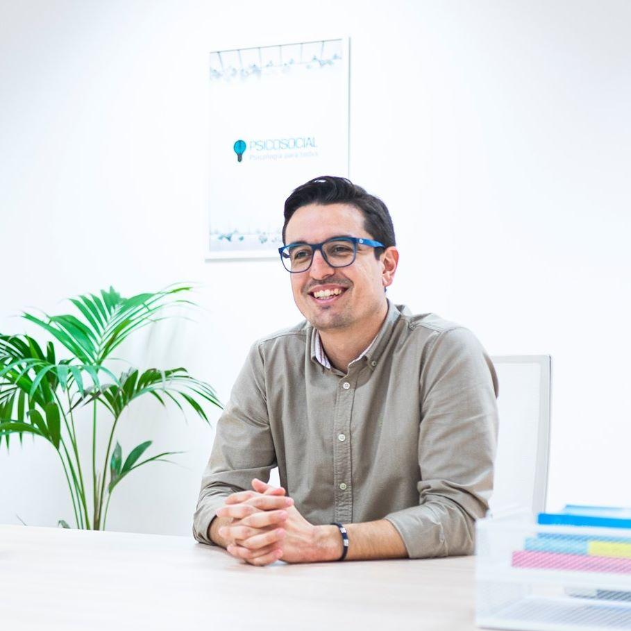 Foto del psicólogo Sergio García.
